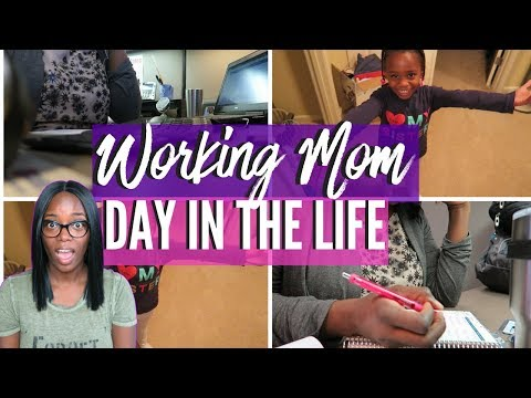 Full time Working mom Day in the Life | Cook with me | Mom Vlog