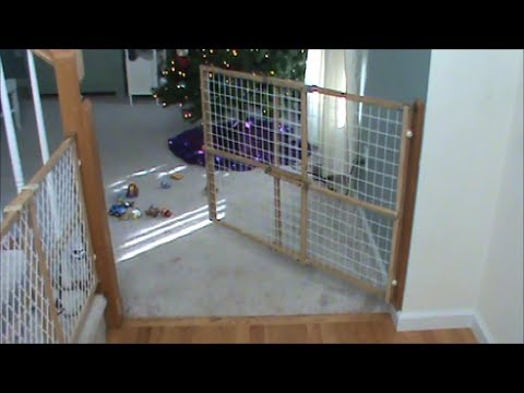 Swinging Child Fence or Dog Gate