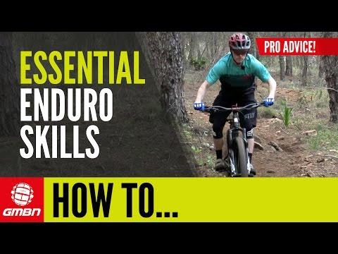 3 Essential Skills For Enduro Racing With Mountain Bike Pro Mark Scott