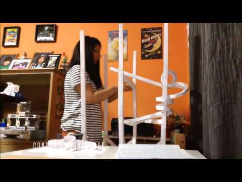 Paper Roller Coaster - Physics Letter Grade Project