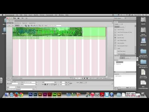 Week 08/01 - Using FLUID GRID LAYOUT in Adobe Dreamweaver