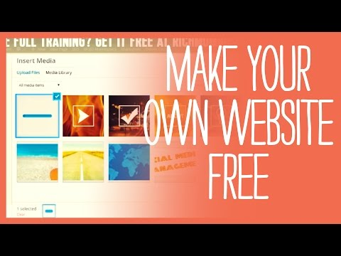 How to create your own website - BEST FREE TUTORIAL