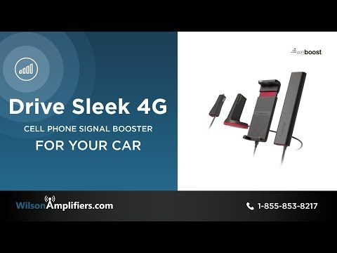 weBoost Drive Sleek 4G Signal Booster Kit (470135) | WilsonAmplifiers.com