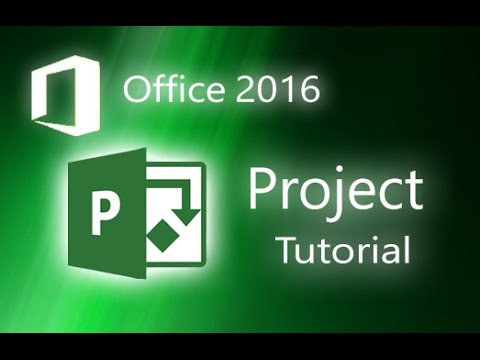 Microsoft Project 2016 - Full Tutorial for Beginners [+General Overview]*