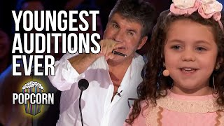 3 YOUNGEST KIDS EVER To Audition On America's Got Talent