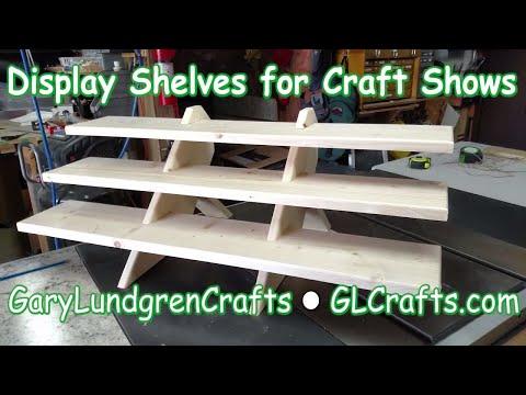 Craft Show Display Shelves  Ep.2017-33