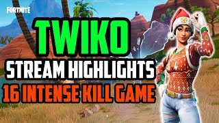 Twiko Stream Highlight #1: 16 Intense Kill Game