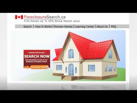 foreclosure canada -canada foreclosure list