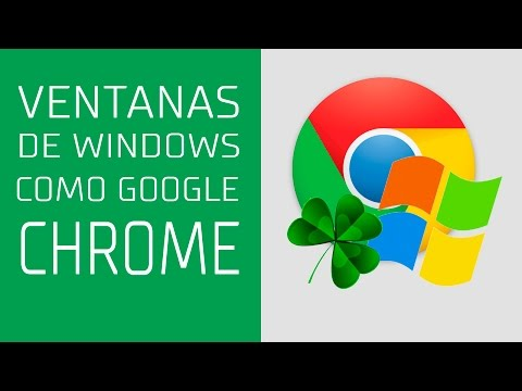 VENTANAS DE WINDOWS COMO GOOGLE CHROME - Clover3  - #AprendeConMKT