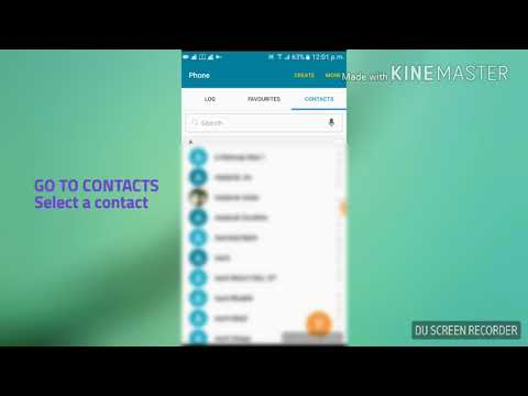 How to set different ringtones for different contacts   [Only Android]