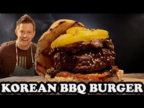 Gangnam Style Burger with Korean Barbecue - Burger Lab