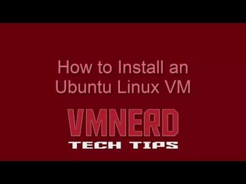 Installing Ubuntu Server VM and Configuring A Static IP