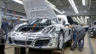 ► How Porsche 911 Carrera is made... (Type 991)