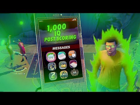 1000 IQ POST SCORING - PURE POST VS PURE ATHLETIC - NBA 2K18
