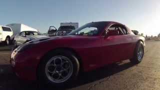 8.4 @ 165 Turbo RX7 Fast Cali Street Cars 530