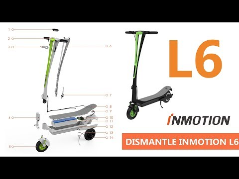 HOW TO DISMANTLE INMOTION L6 | V Style Electric Kick Scooter