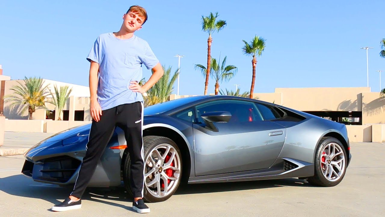 I RENTED A LAMBO FOR A DAY