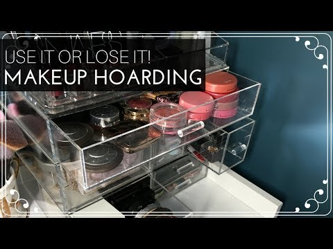 Use it Or Lose it: Stop Hoarding Makeup!