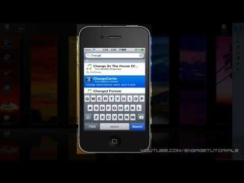 How To Change Your iPad or iPod Touch's Carrier Name iOS 4.2.1
