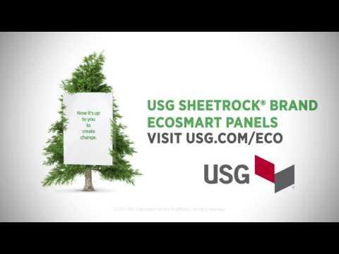 Introducing USG Sheetrock® Brand EcoSmart Panels