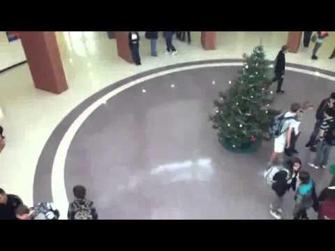 Dennis the Menace Grinch Destroys a Christmas Tree