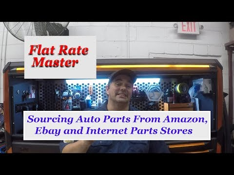Sourcing Auto Parts From Amazon, Ebay and Internet Parts Stores