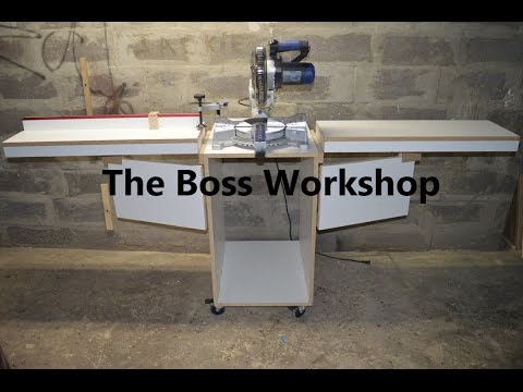 Making a Miter Saw Stand