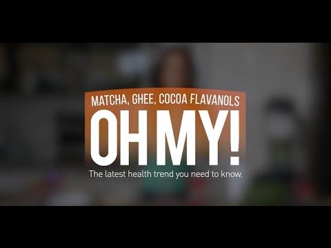 Matcha, Ghee, Cocoa Flavanols, OH MY!