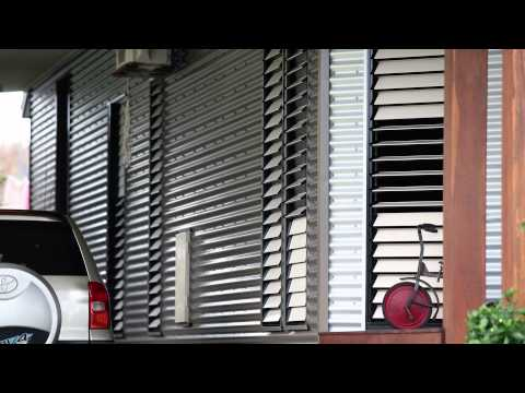 Asia - louvres windows in a cyclone - Breezway Louvre Windows Owner Reviews
