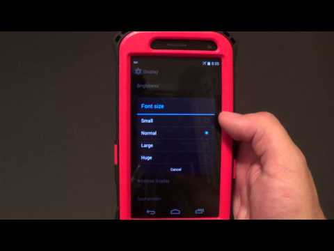 Android HOW TO: Changing the FONT Size
