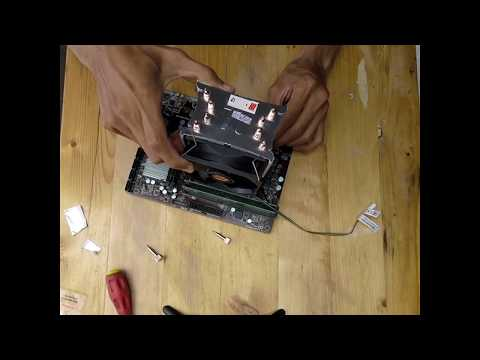 How To Apply Thermaltake Contact 21 HSF on LGA 1151 Socket