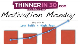 Motivation Monday Episode #1 - Losing Weight By Changing Your Focus - Thinnerin30