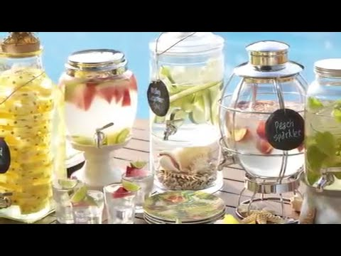 Summer Party Ideas for Creatively Filling Drink Dispensers   Pottery Barn