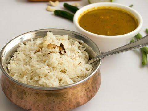 ಗೀ ರೈಸ್ ವಿತ್ ವೆಜ್ ಕುರ್ಮಾ( Ghee Rice with Veg Kurma)