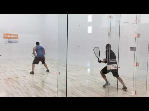 Rocky Carson Gives Tips on Racquetball Shot Selection
