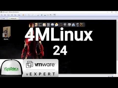 How to Install 4MLinux 24 + Review on VMware Workstation [2018]