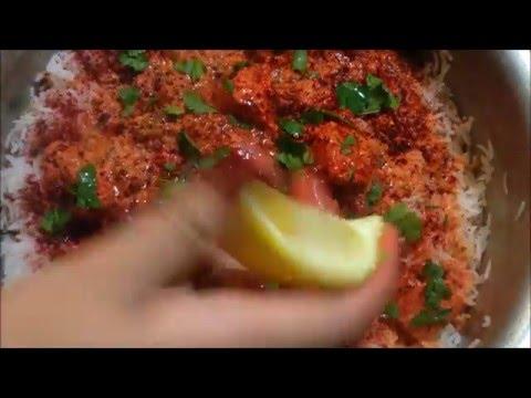 Chicken Tikka Biryani step by step Nazkitchenfun