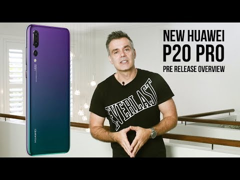 The new 2018  Huawei P20 Pro!  Some serious specs for creative professionals!