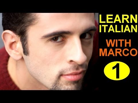 Learn Italian 1 Italian Course LIVE FROM ITALY