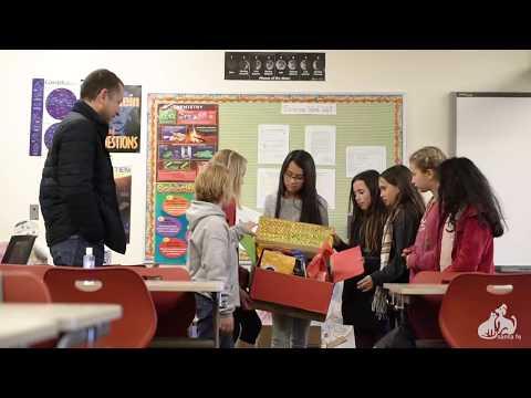 El Dorado Community School kids help out SFAS!
