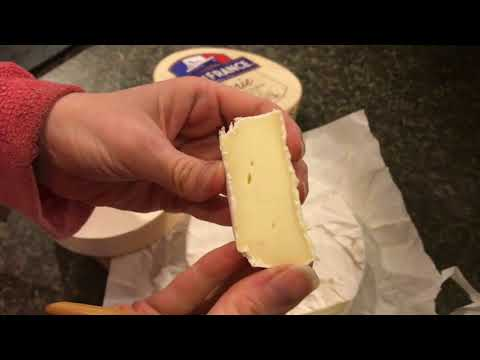 first TASTE of ile de france brie cheese