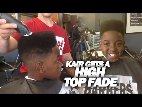 HOW TO: CLASSIC HIGH TOP FADE / KID N PLAY - HAIRCUT TUTORIAL - LEARN - HD
