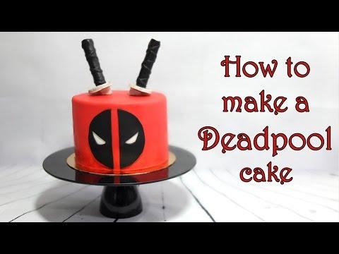 How to make a Deadpool cake / Jak zrobić tort z Deadpool
