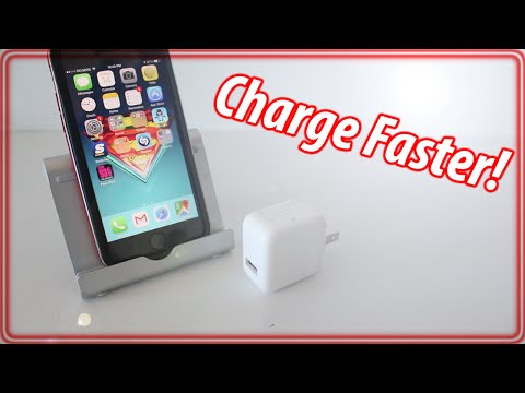 How To Charge iPhone Faster - iPhone, iPad & iPod Touch Tips