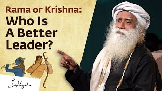 Rama or Krishna: Who Is A Better Leader? Sadhguru Answers