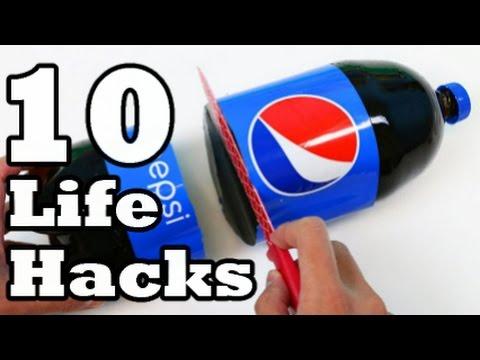 10 simple ideas using Plastic Bottle