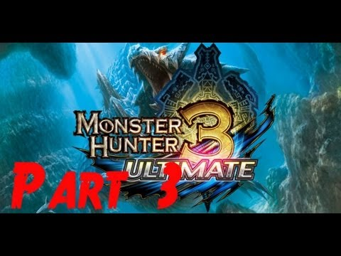 Let's Play Monster Hunter 3 Ultimate 3DS Part 3: Mining Iron Ore + Hunting Molid's