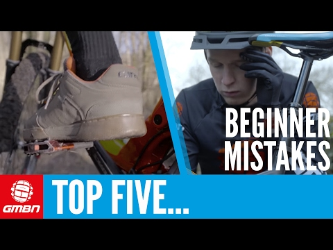 Top 5 Beginner Mountain Bike Mistakes | MTB Skills