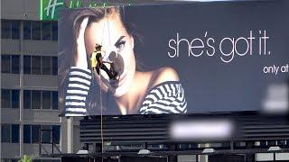 Putting Giant Googly Eyes on a Billboard