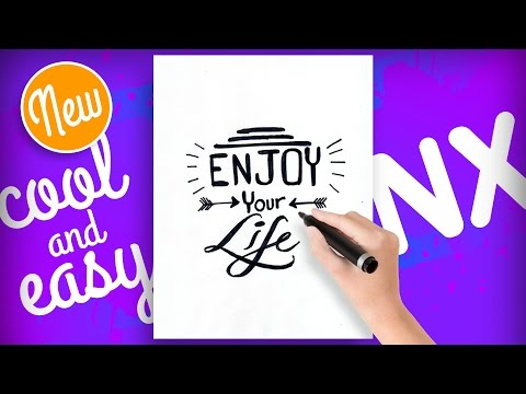 How to draw tumblr quotes